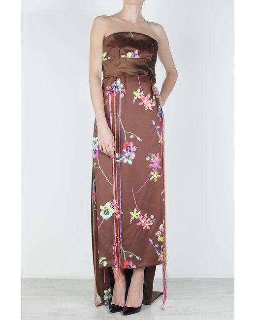 Marc Jacobs | Женское Многоцветное Шелковое Платье