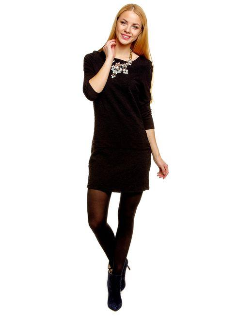 TOM TAILOR   Женское Чёрное Платье 501330300702999