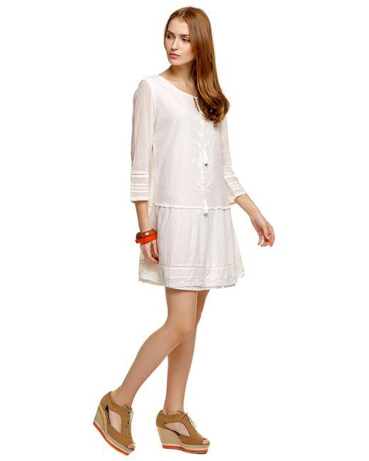Denim | Женское Бумажное Платье