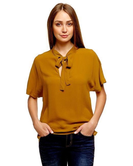Denim   Женская Золотая Блузка 203056900717630