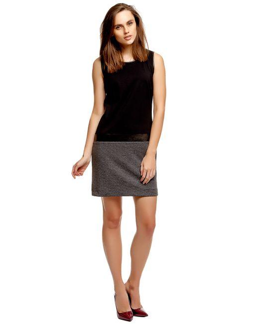 TOM TAILOR | Женское Чёрное Платье 501873800702999