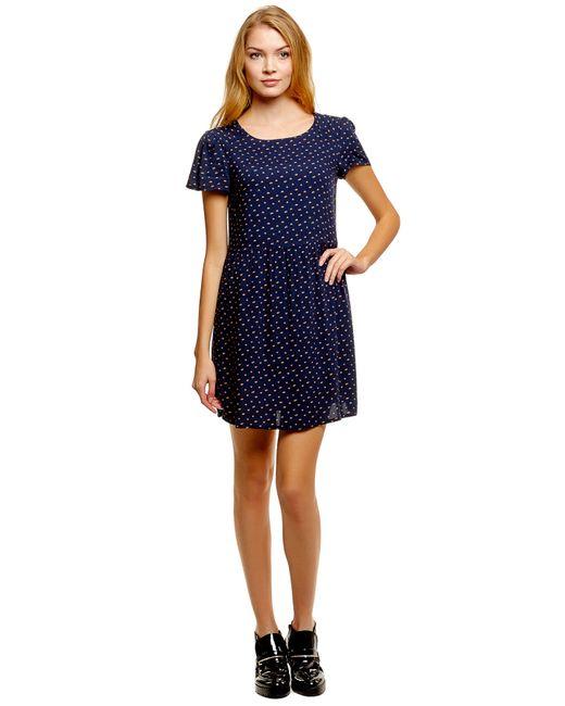 Denim   Женское Синее Платье