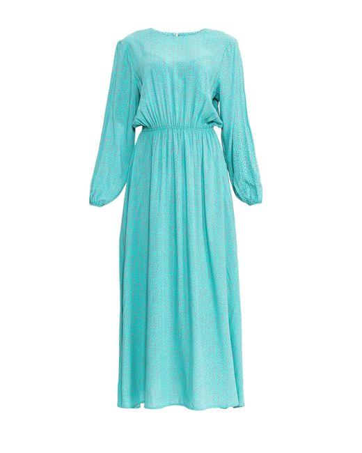 Private Sun | Женское Синее Платье Dr-52-01-Fw16