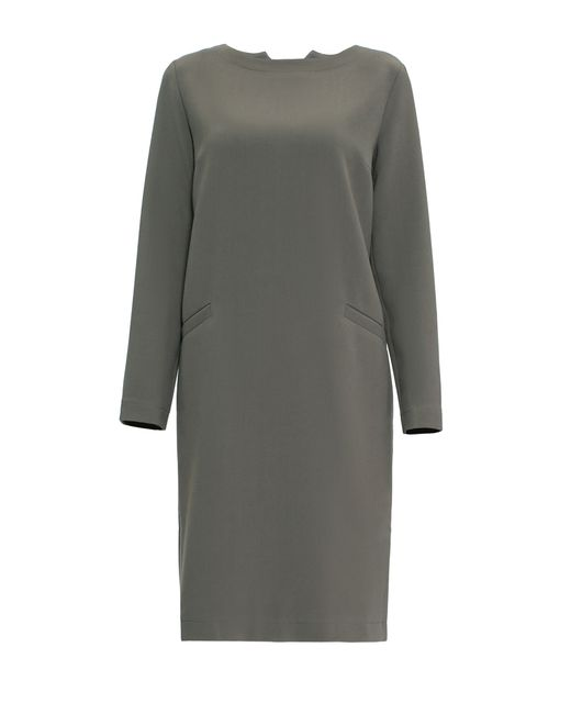 Pallari | Женское Серое Платье 4143-8dr