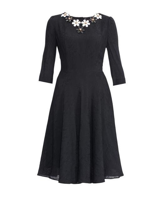 Anna Verdi   Женское Чёрное Платье С Колье 153377