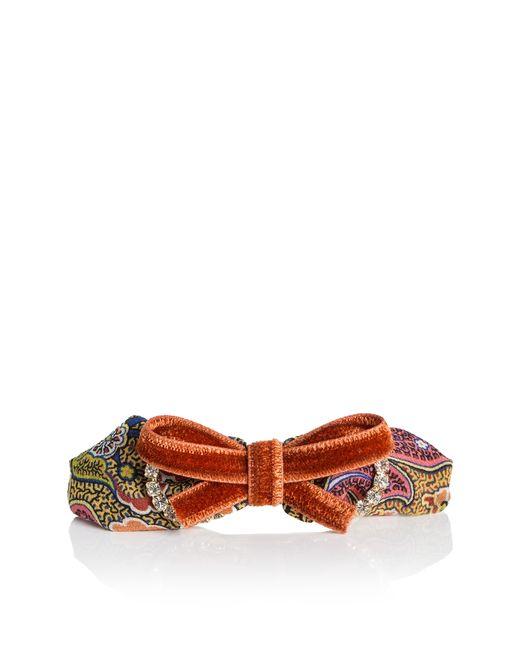 Etro | Женская Оранжевая Заколка-Автомат Sf-03829