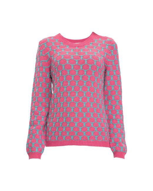 Sweet Sweaters   Женский Розовый Джемпер 1504