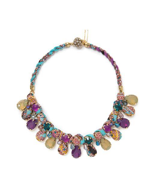 Etro   Женское Многоцветное Колье Sf-59062