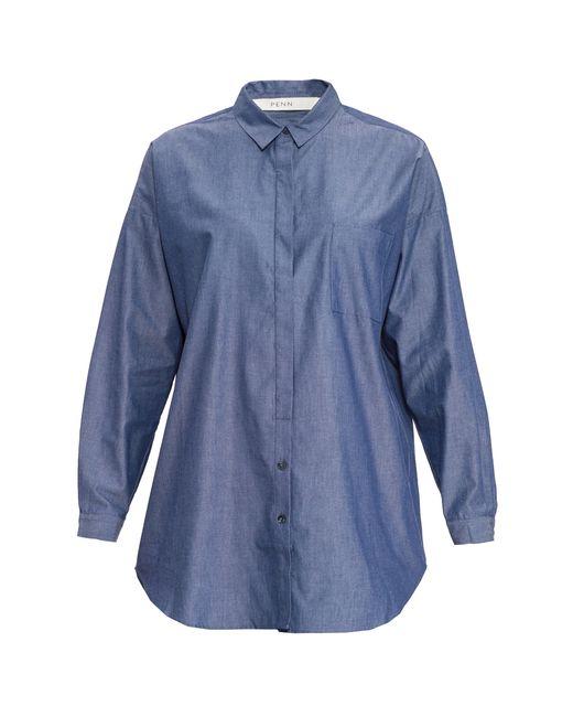 Penn   Женская Синяя Блуза 1006