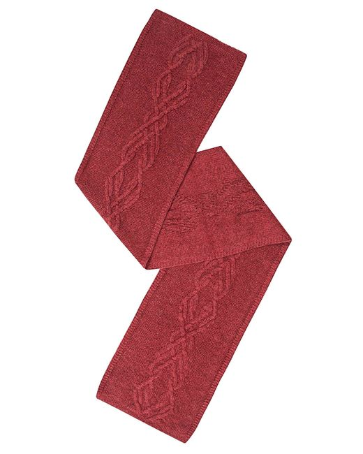 Sweet Sweaters   Женский Красный Шарф 1104/1
