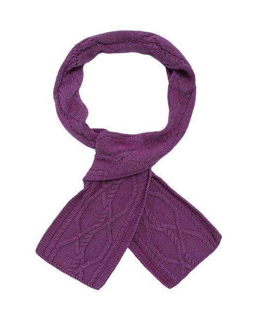 Sweet Sweaters   Женский Фиолетовый Шарф 1202