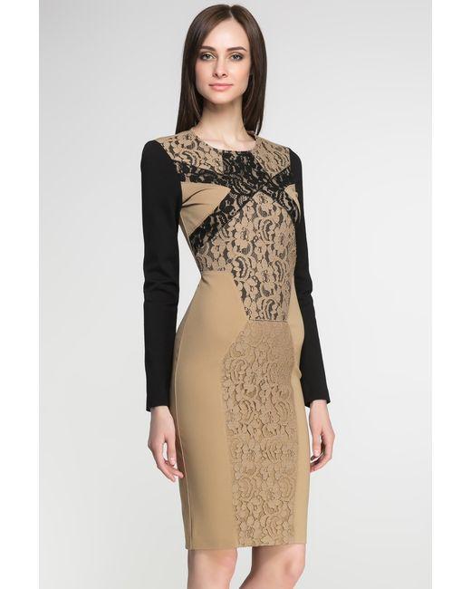 Class Roberto Cavalli | Женское Многоцветное Трикотажное Платье Ar1-14icd643