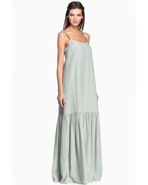 Pallari   Женское Зелёное Платье 4121-7dr