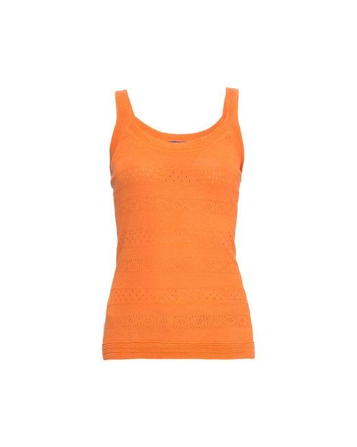 Blue Sky Cashmere | Женский Оранжевый Кашемировый Топ 160567