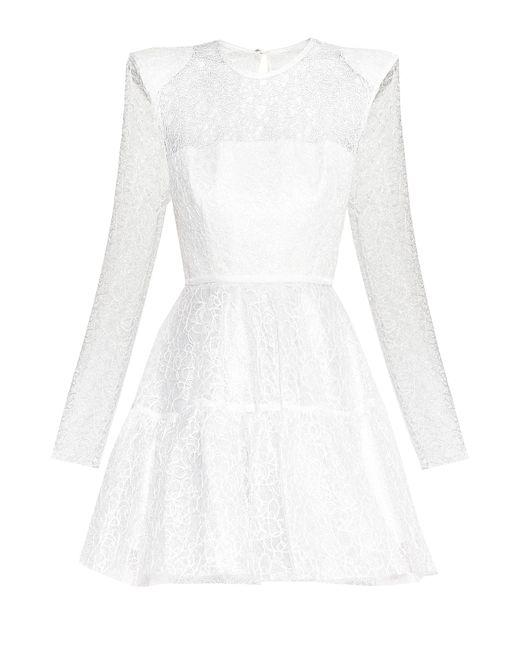 ALEX PERRY | Женское Белое Кружевное Платье 173759