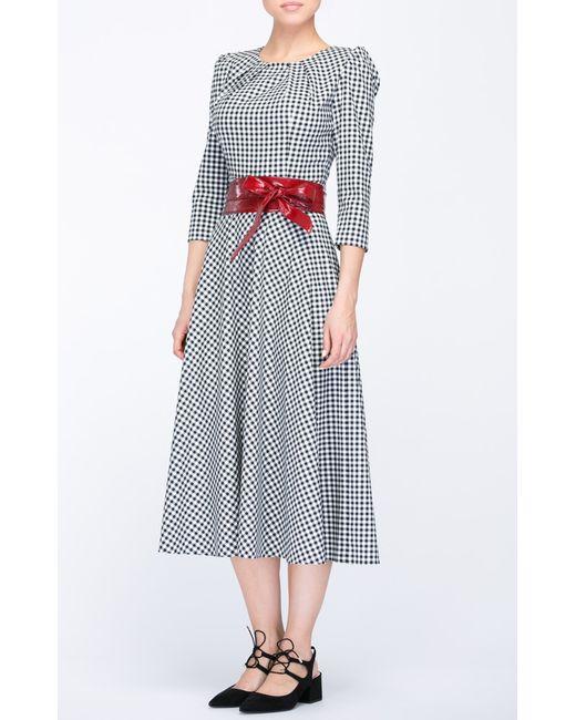 Bezaliya | Женское Платье Черно-Белое