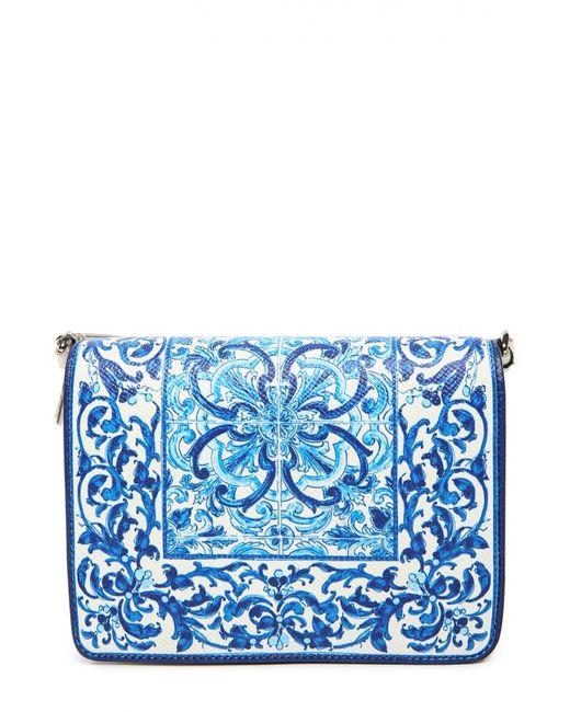 Dolce & Gabbana | Женская Синяя Сумка Dolcegabbana