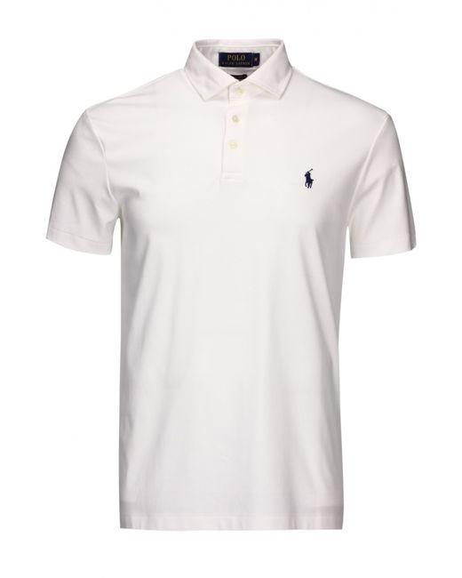 Polo Ralph Lauren | Мужской Белый Пуловер Джерси