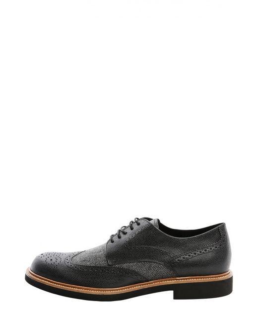 Tod'S | Мужские Чёрные Туфли