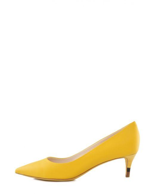 Fendi | Женские Жёлтые Туфли