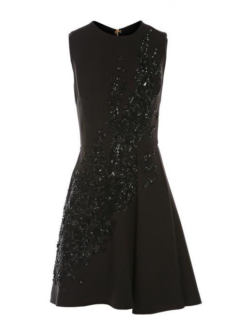 Elie Saab | Женское Чёрное Платье Вечернее
