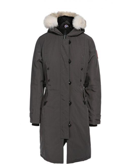 Canada Goose   Женское Серое Пальто