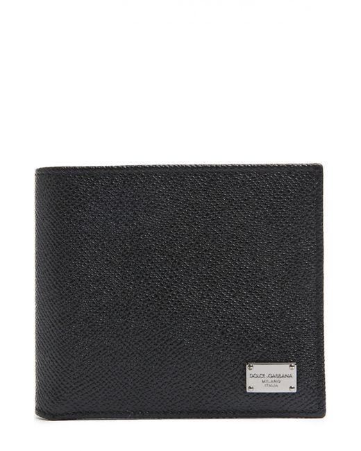 Dolce & Gabbana | Мужское Чёрное Портмоне Dolcegabbana