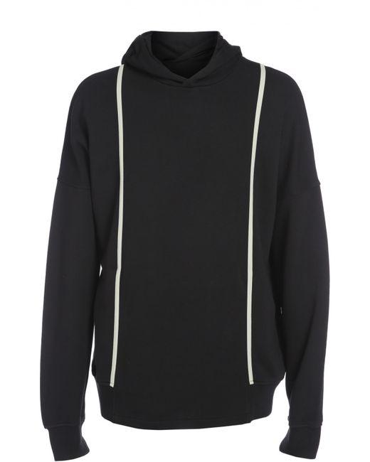 Silent | Мужской Чёрный Пуловер Джерси