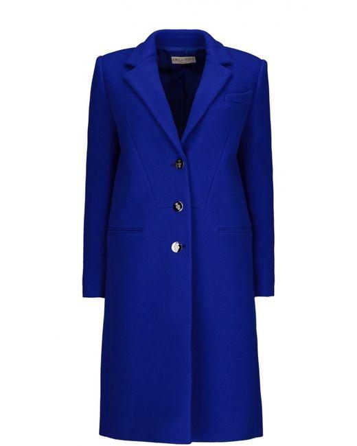 Emilio Pucci | Женское Синее Пальто