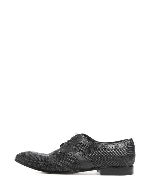 Raparo | Мужские Чёрные Туфли