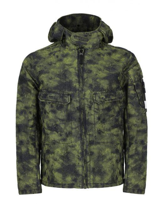 Stone Island | Мужская Зелёная Куртка