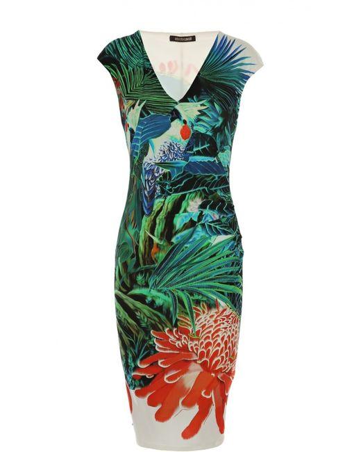 Roberto Cavalli | Женское Многоцветное Платье