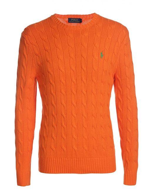 Polo Ralph Lauren | Мужской Оранжевый Пуловер