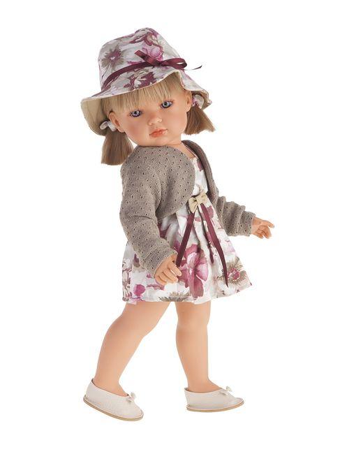 Antonio Juan | Бежевая Кукла Белла В Шляпкеблондинка 45 См
