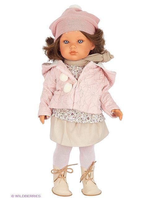 Antonio Juan | Розовая Кукла Белла Зимний Наряд 45 См