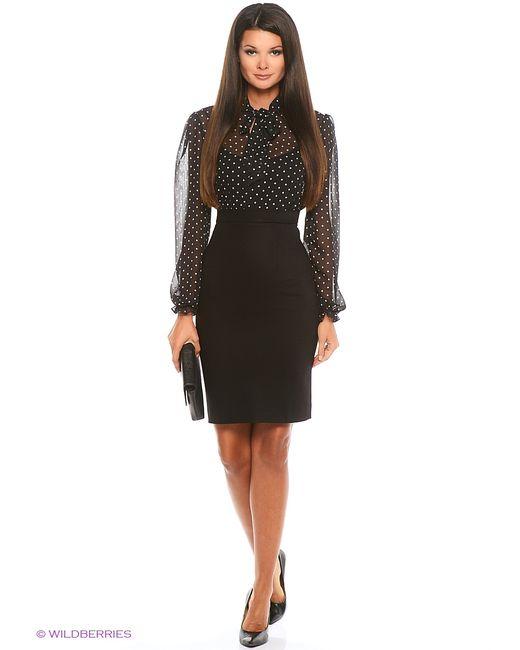 RUXARA | Женское Чёрное Платье