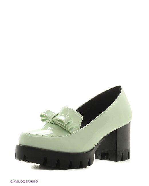Inario | Женские Зелёные Туфли