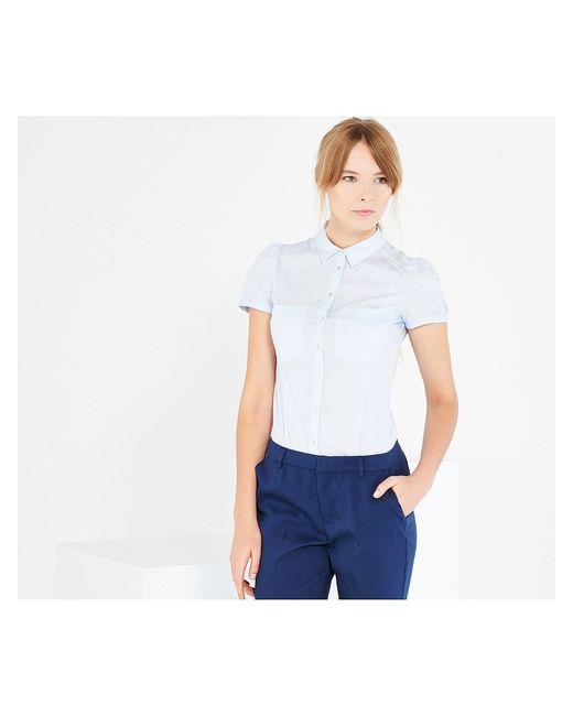 Reserved | Женское Голубой Блузка-Боди
