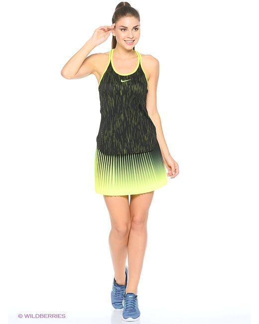 Nike | Женская Чёрная Юбка W Nk Flx Vctry Skirt Premier