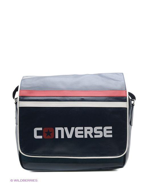 Converse | Женская Синяя Сумка С Плечевым Ремнем Сумка Flapbag