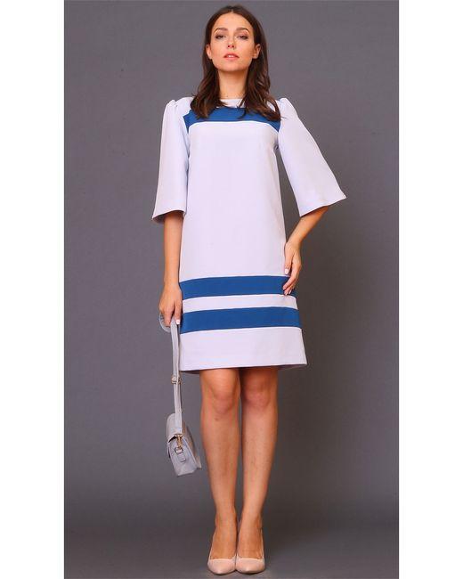 MARI VERA | Женское Синее Платье