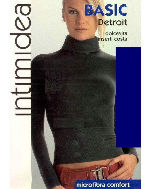 Intimidea | Женская Синяя Водолазка