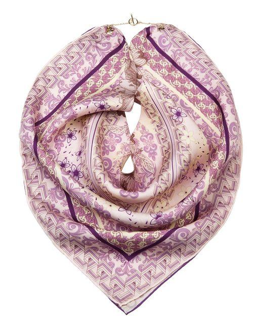 Eleganzza   Женский Фиолетовый Платок