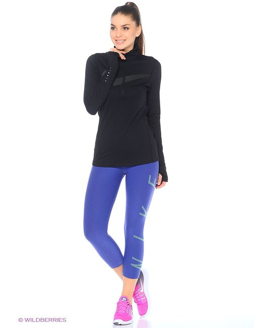 Nike | Женское Фиолетовое Капри W Nk Pwr Lgnd Cpri Graphic