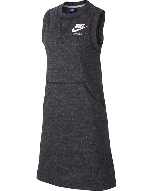 Nike | Женское Серое Платье