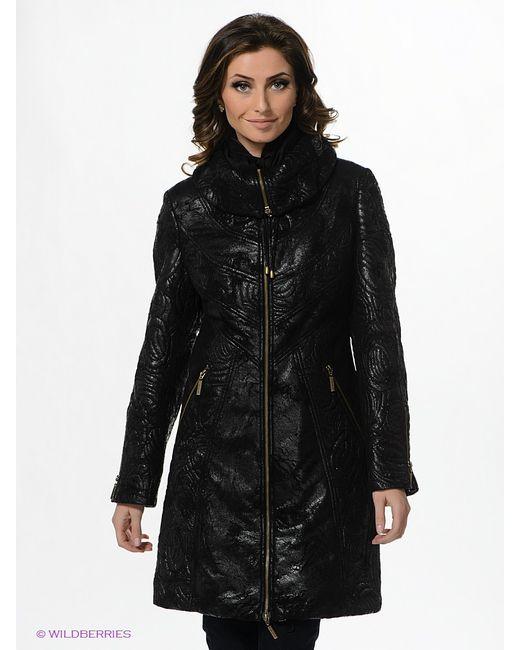 Electrastyle | Женское Чёрное Пальто