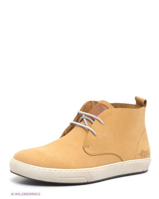 El Tempo   Мужские Бежевые Ботинки