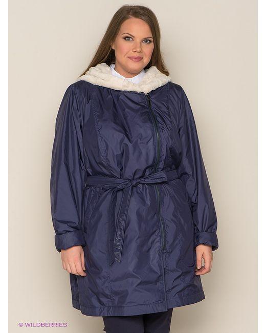 Modress | Женское Синее Пальто