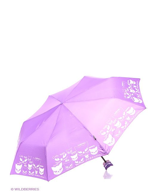H.DUE.O | Женские Фиолетовые Зонты