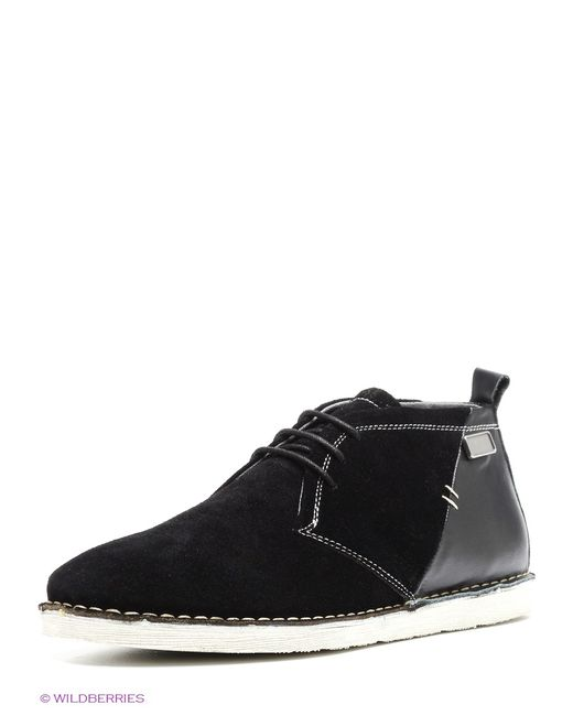 Gaudi | Мужские Чёрные Ботинки